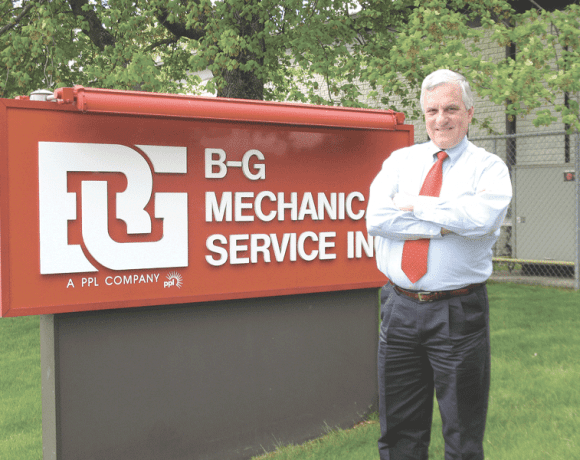 James Reidy, operations manager of B-G Mechanical Services