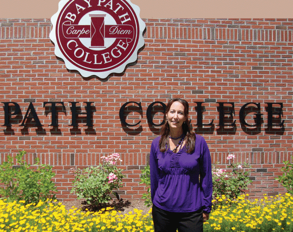 Lauren Way, Bay Path College's director of Entrepreneurial Programs and Cooperative Education.