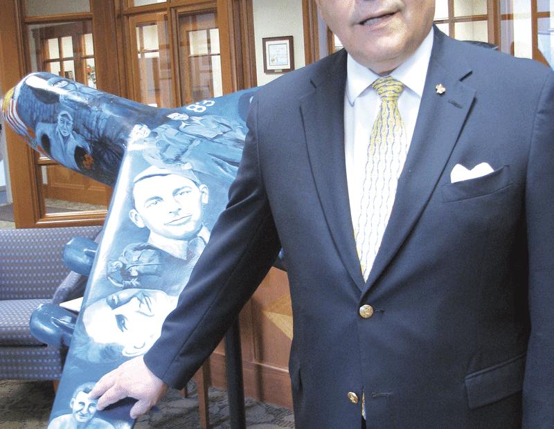 CSB President Bill Wagner