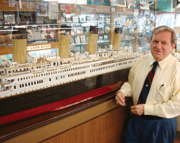 Ed Kamuda has taken his youthful interest in the Titanic and turned it into a lifetime passion.