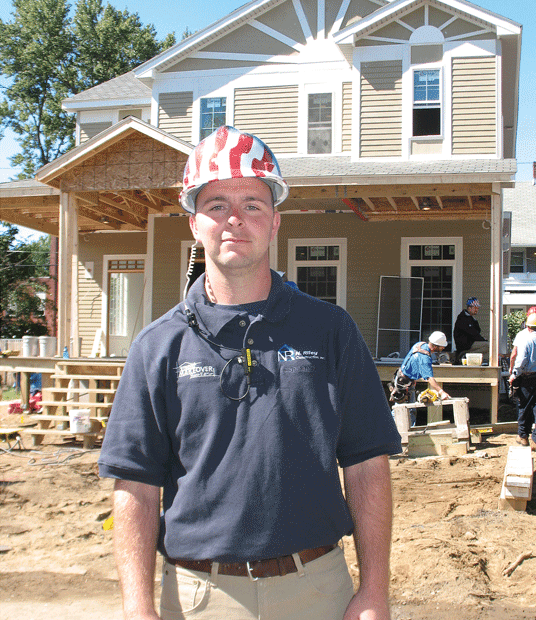 Nick Riley, president of N. Riley Construction
