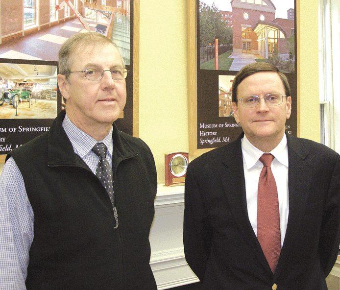 Stephen Jablonski (right) and Brian DeVriese.