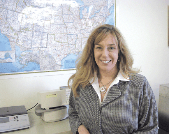 Robin Sauve, owner of Barkley Logistics