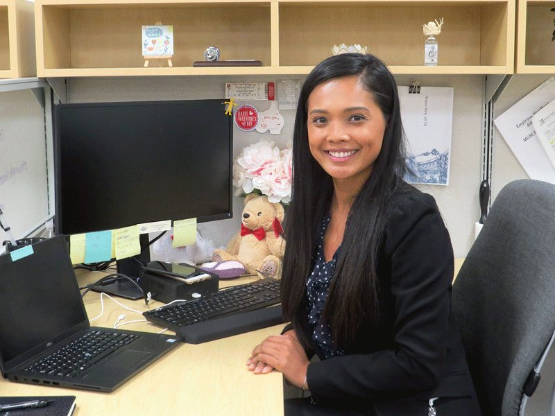 Thuy Nguyen says she never skipped school before attending that job fair where she connected with MGM Resorts. She certainly has no regrets now.