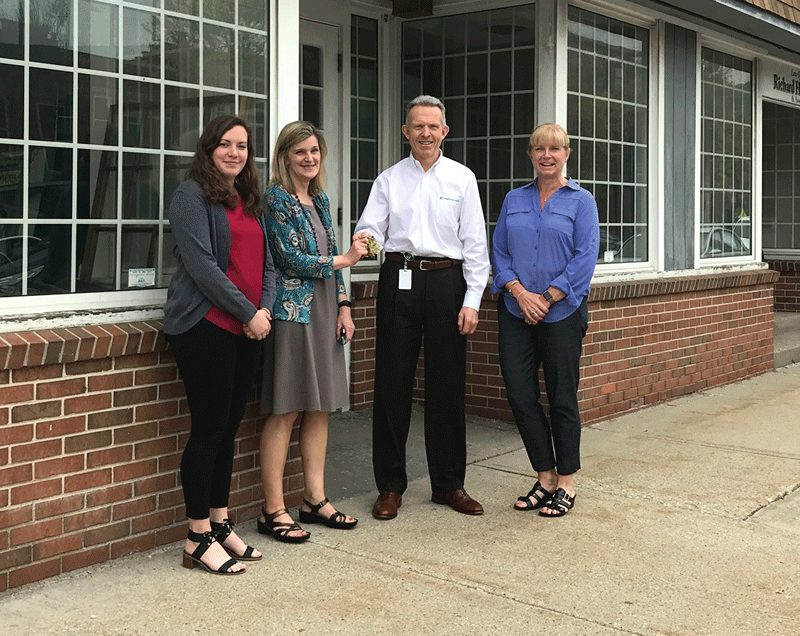 Country Bank announced it has donated its former building, located at 65-71 Main St., Ware, to the Quaboag Valley Community Development Corp. (QVCDC).