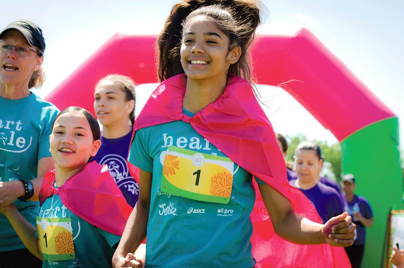 More than 2,500 girls, spectators, volunteers, and community members gathered on June 3 for the Girls on the Run Western Massachusetts 5K event at Springfield College, the culminating moment of the Girls on the Run season