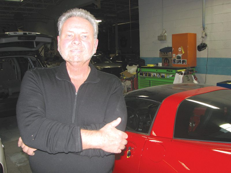 Rick Recor, owner, Rick's Auto Body