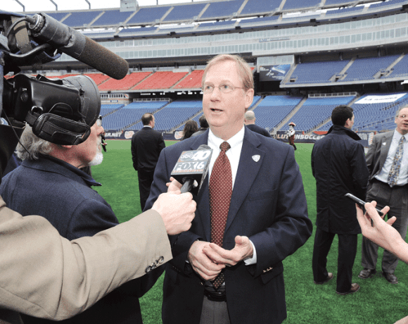 UMass Athletic Director Jon McCutcheon