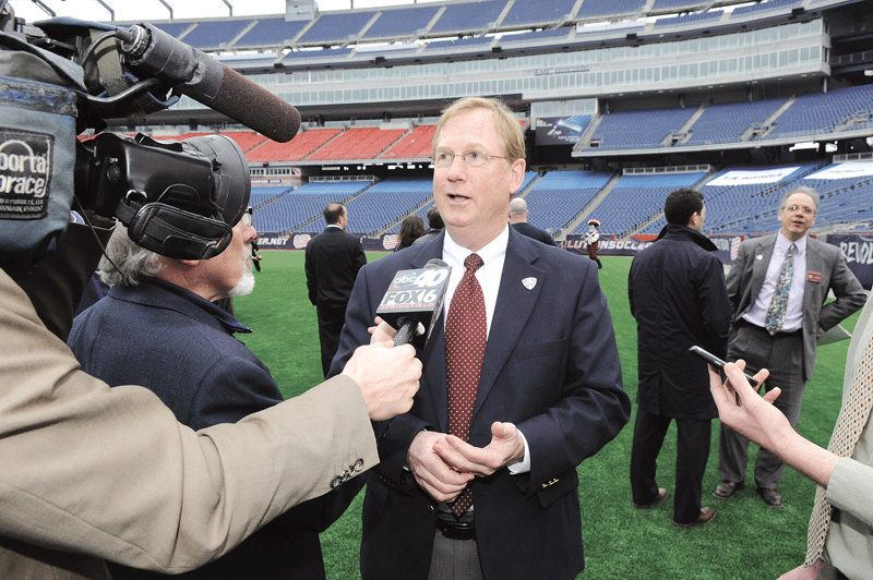UMass Athletic Director Jon McCutcheon