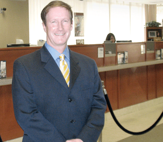 Westfield Bank President and CEO James Hagan