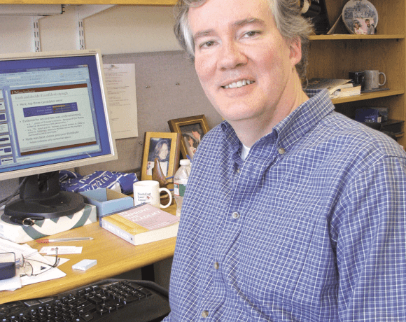 James Allan, co-director of UMass Amherst's Center for Intelligent Information Retrieval.