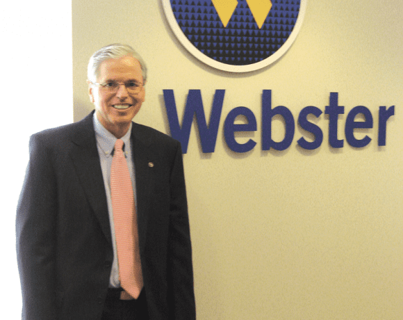 Bob Annon says Webster makes an effort to become partners with their customers, offering financial counsel and services for all stages of life.