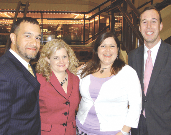 From left, Edward Nuñez, Pamela Thornton, Somalid Hogan, and Jack Toner