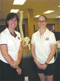 Susan Guyer, left, and Tracey Dexter Matthews