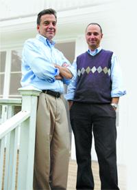 Nate Winstanley and Ralph Frisina