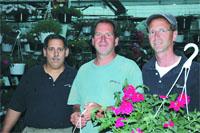 Chris, Mark, and David Graziano