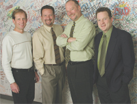 Dan, Chris, Larry, and Marc Grenier of Grynn & Barrett Studios