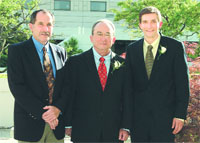 Seth Roberts, Steve Roberts and Frank Roberts
