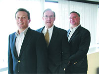From left, Greg Caldicott, Tom Murphy, and Bill Zierolf, the new leadership team at EstateWorks.