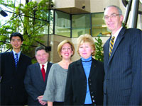 Xiaolei Hua, William Sullivan, Janice Mazzallo, Marian Poe-Heineman, and Doug Bowen