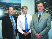 Michael Graney, Alan Blair, and Kenneth Delude