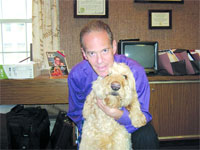 Peter Shrair, with Motzard.