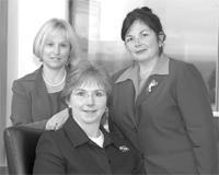 Jill Lyons, Diane Fernald, and Heather Beattie