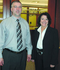 Rob Phillips and Kathy McCormack-Batterson