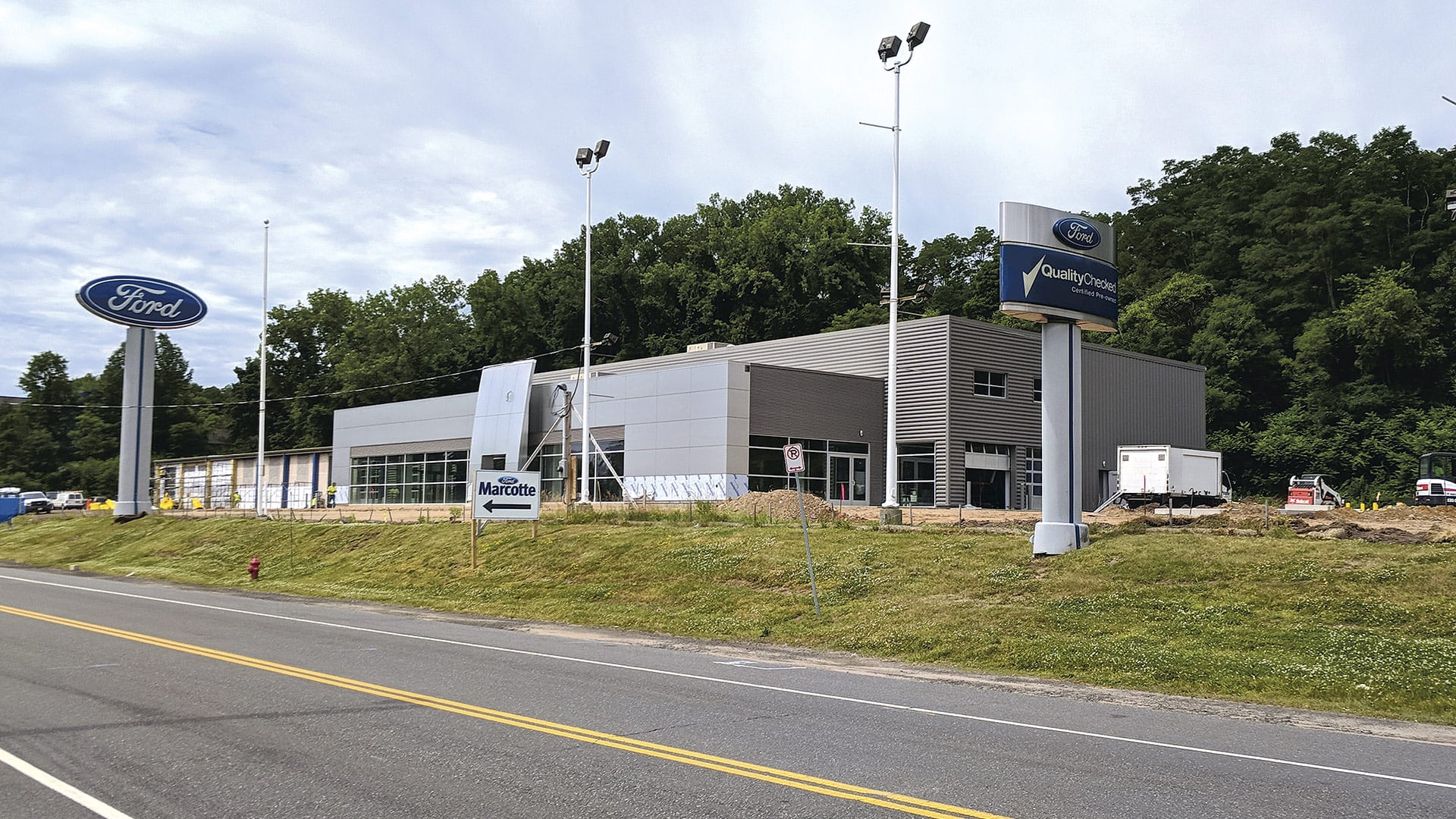 Marcotte Expects To Unveil Its 40,000 Square Foot Renovation In August,  Followed By