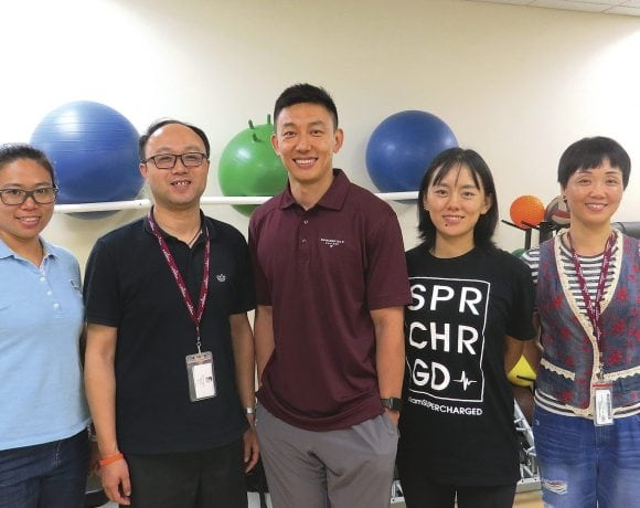 Springfield College's recent visitors from China