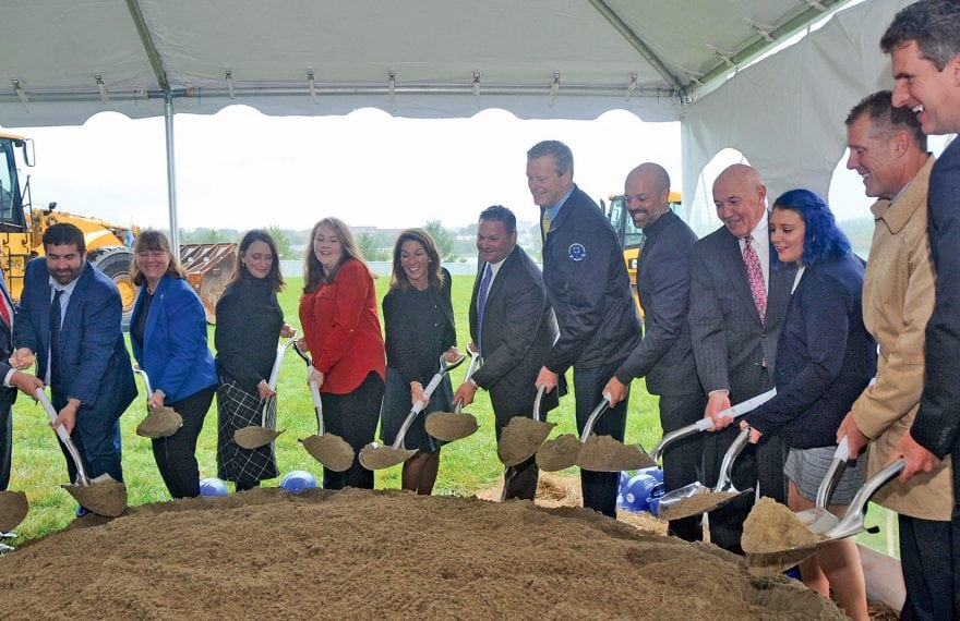 State and local officials joined with stakeholders in the Berkshire Innovation Center to break ground on the project last week.