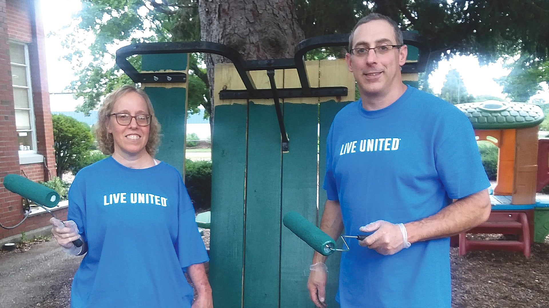 The United Way's Day of Caring brought together more than 1,000 people on Sept. 14