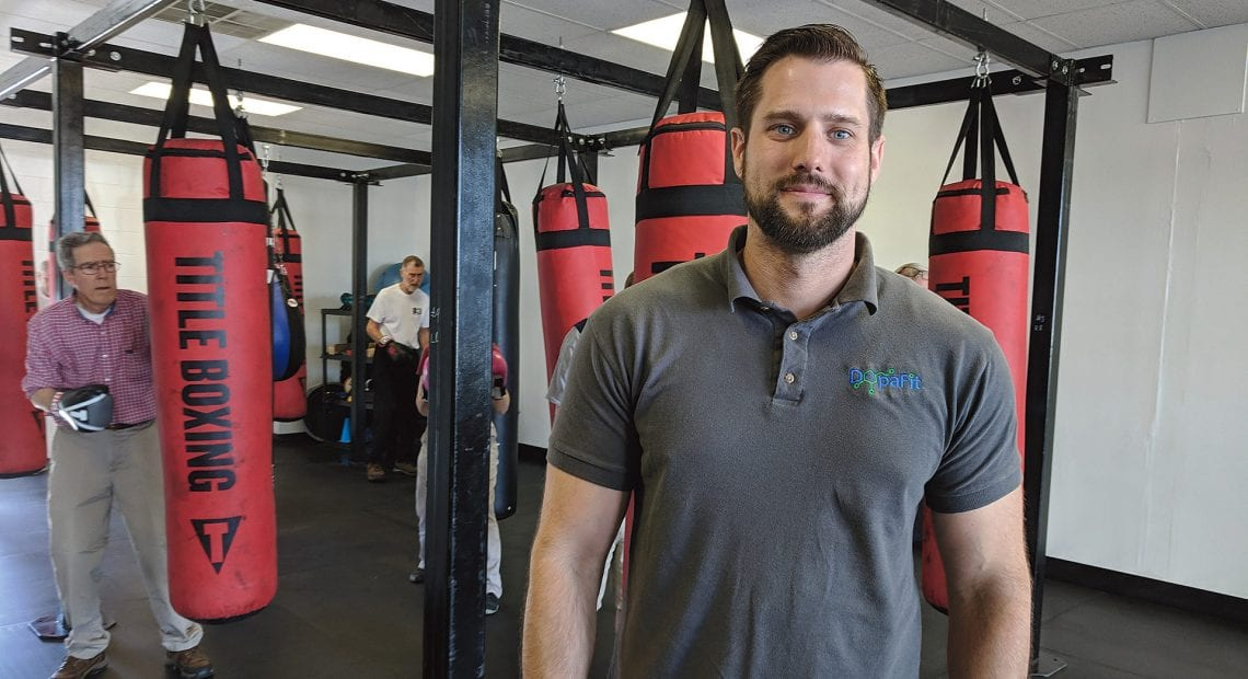 Chad Moir turned his resentment against Parkinson's disease into a chance to help others fighting the disease that took his mother.