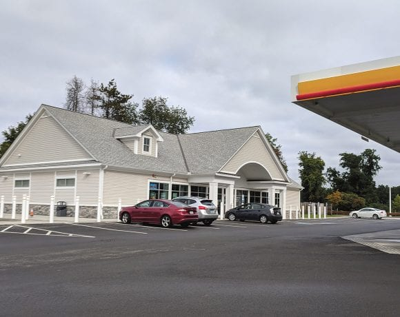 With projects like the convenience store on Shaker Road complete, East Longmeadow is anticipating progress