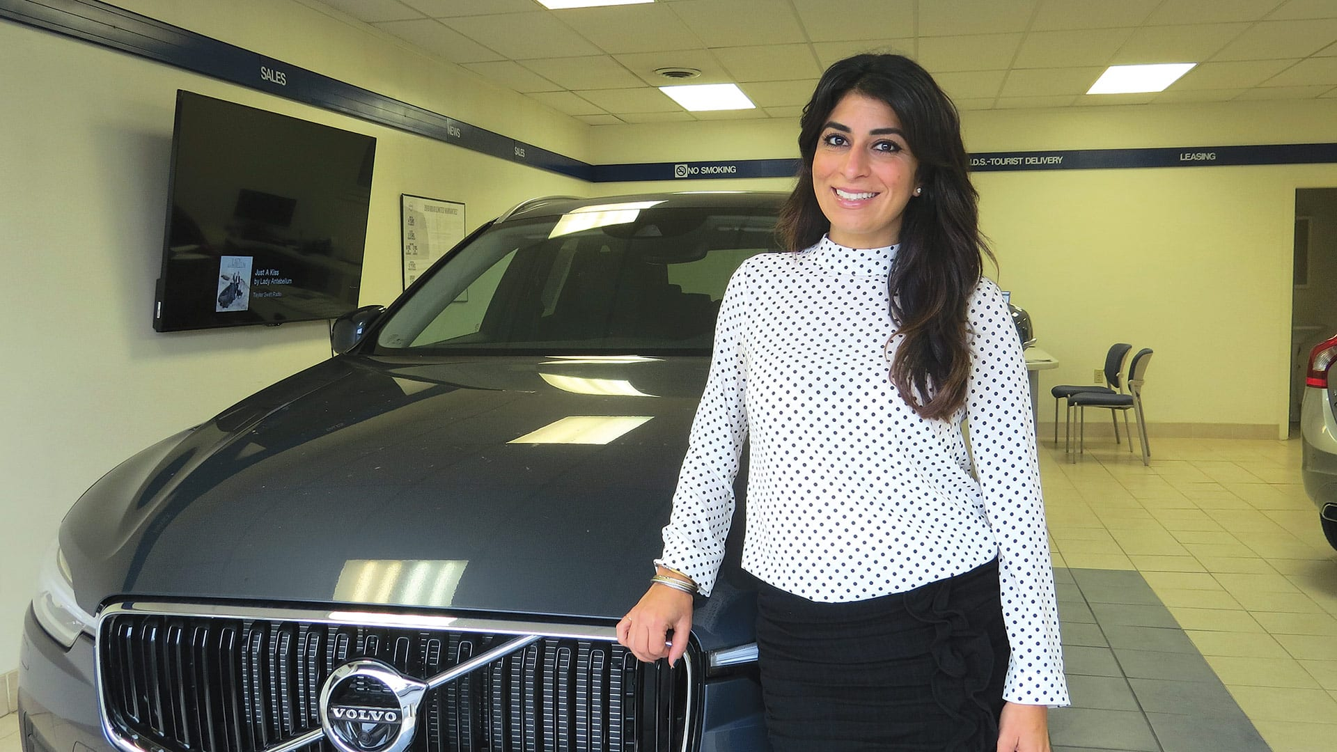 Carla Cosenzi says the recently acquired Volvo dealership in South Deerfield is a perfect fit for the TommyCar Auto group.