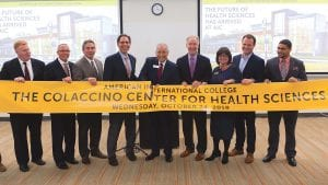 American International College (AIC) celebrated the grand opening of the new Colaccino Center for Health Sciences