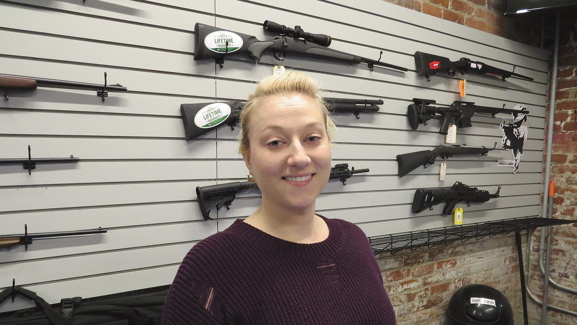 Kendall Knapik says Hot Brass meets a recognized need in the region for a public shooting range.
