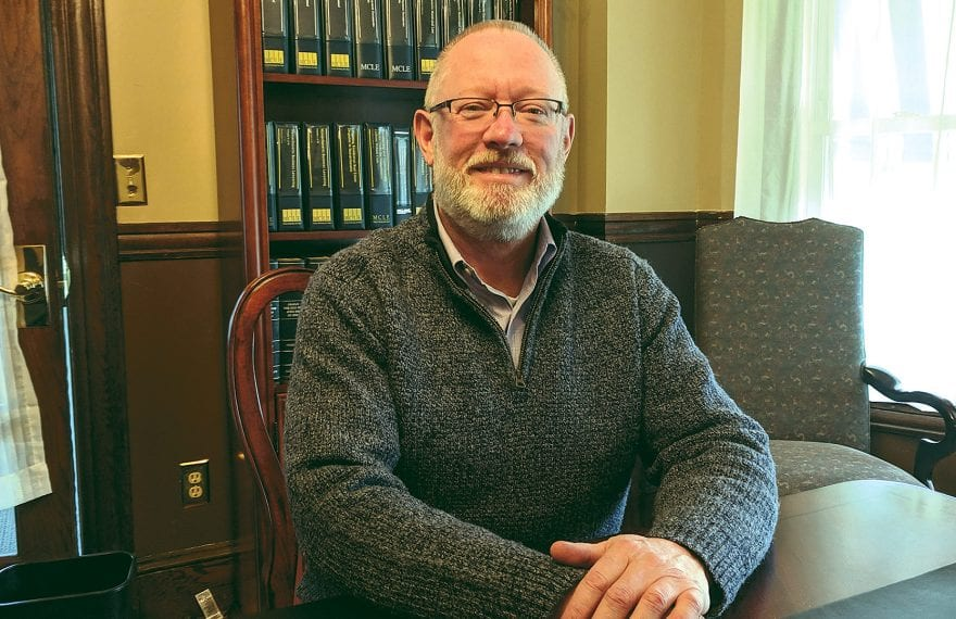 Jack Ferriter says it's never too early to talk to an attorney