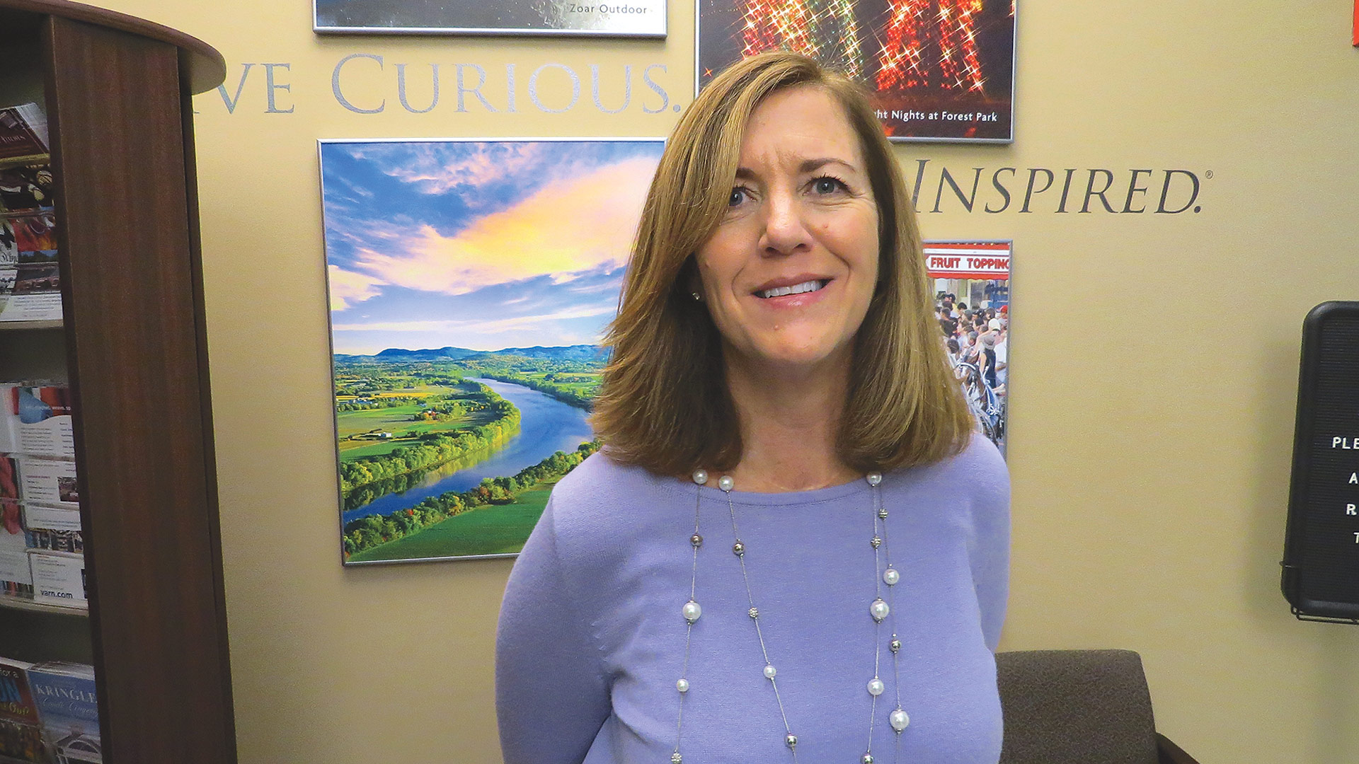 Mary Kay Wydra says 2019 is shaping up as a very solid year for the region's tourism industry.