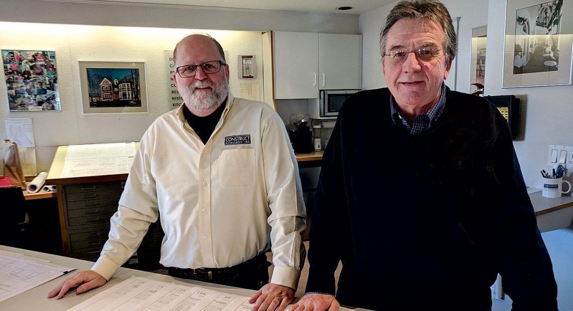 Partners Stephen Ross (left) and Bob Walker