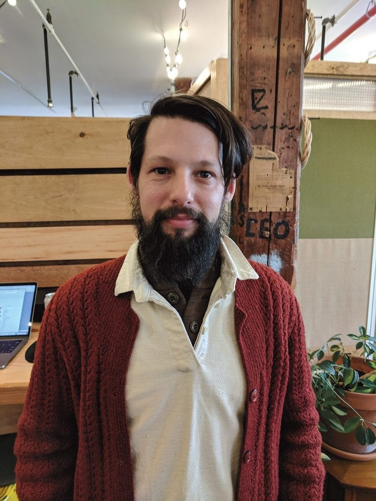 Michael Crigler found, in Greenspace CoWork, an ideal spot for his digital marketing agency, Bueno Social.