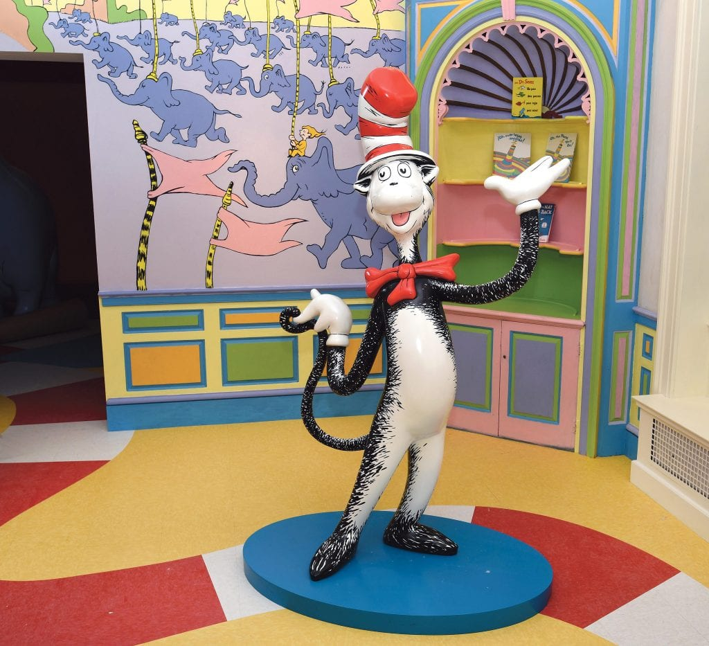 The Amazing World of Dr. Seuss Museum doubled the Museums' attendance
