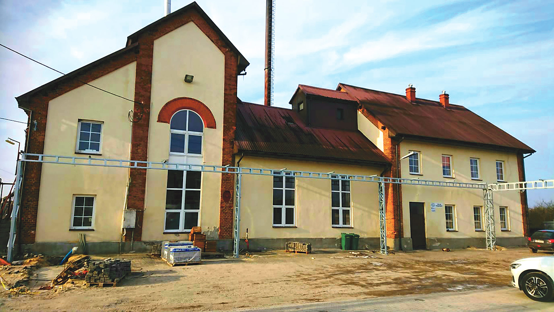The distillery in Kanien, Poland has a long history, and V-One Vodka will be writing an intriguing new chapter.