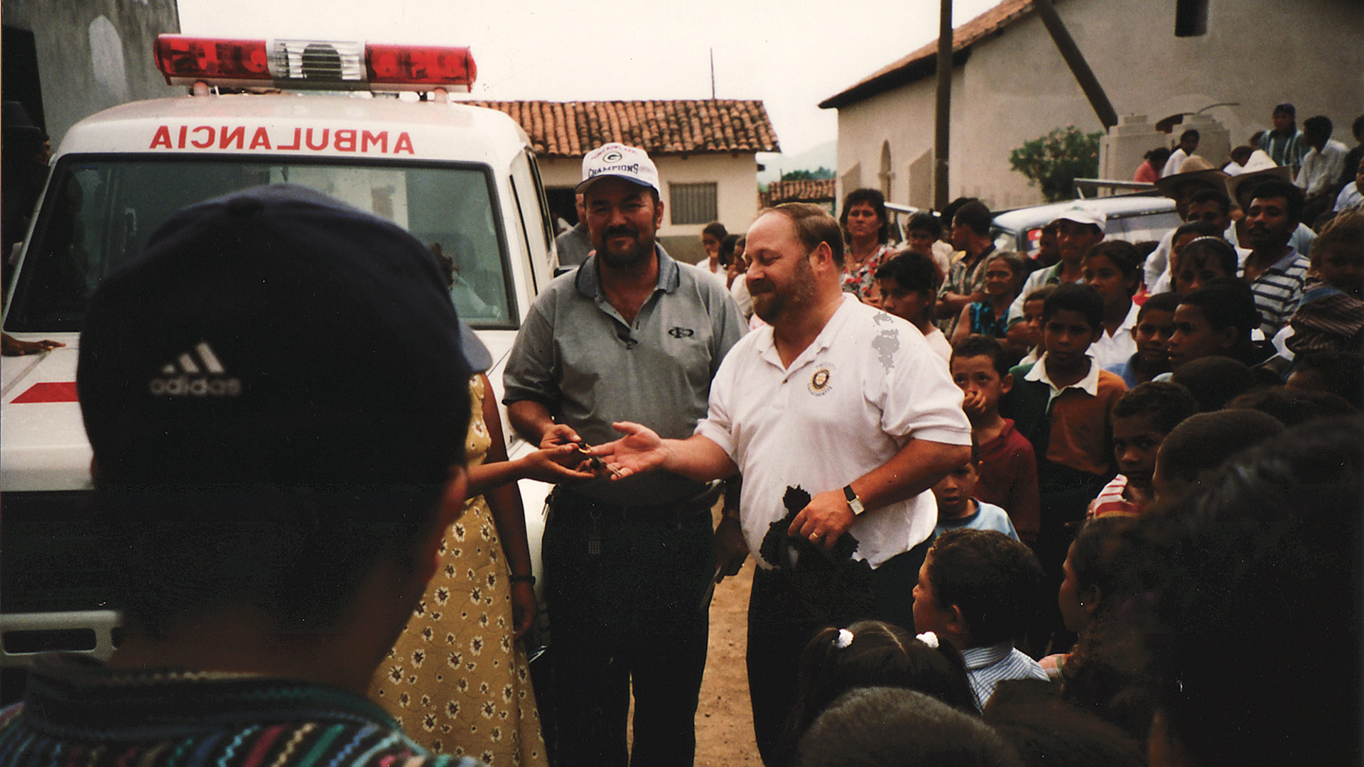 Joe Peters played a large role in bringing a new ambulance to the Honduran village of Guayape