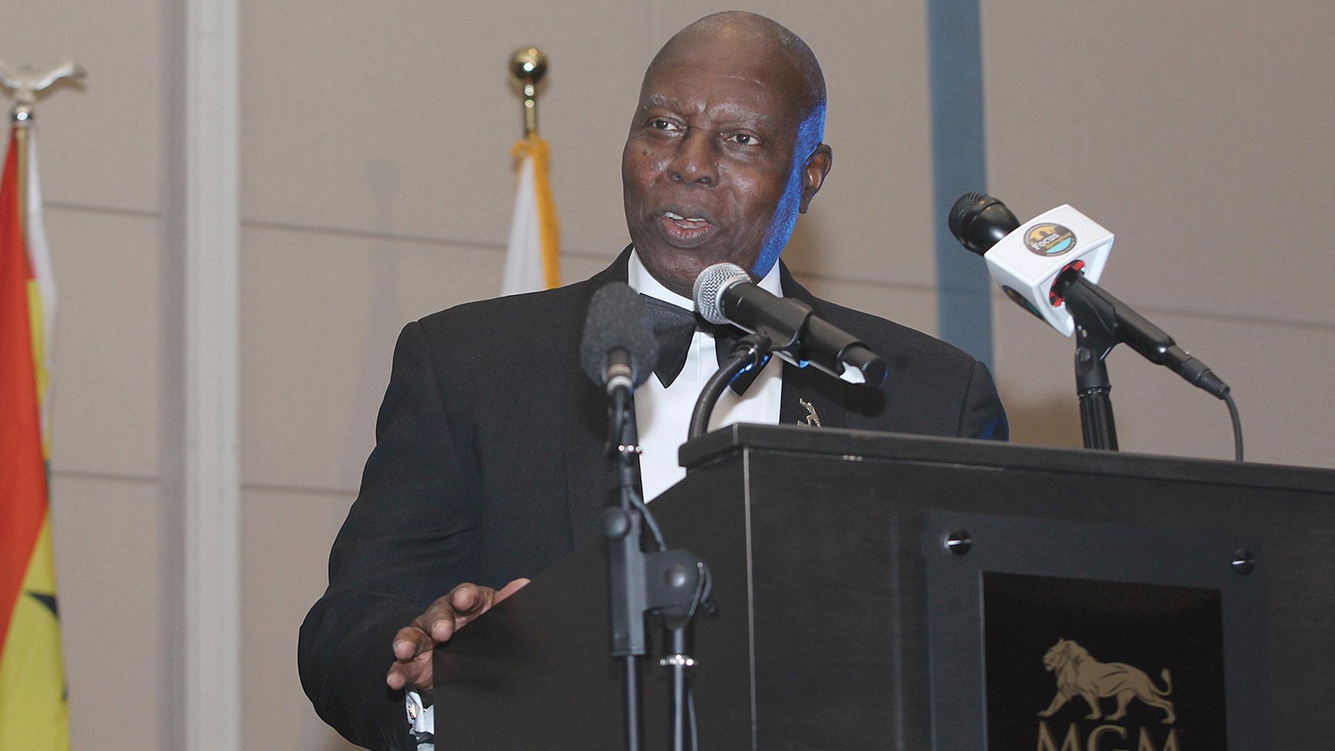 Adjei-Barwuah addresses the crowd