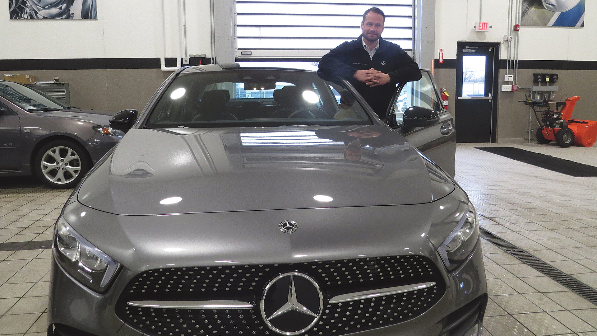 Peter Wirth says the new A-Class presents a huge opportunity