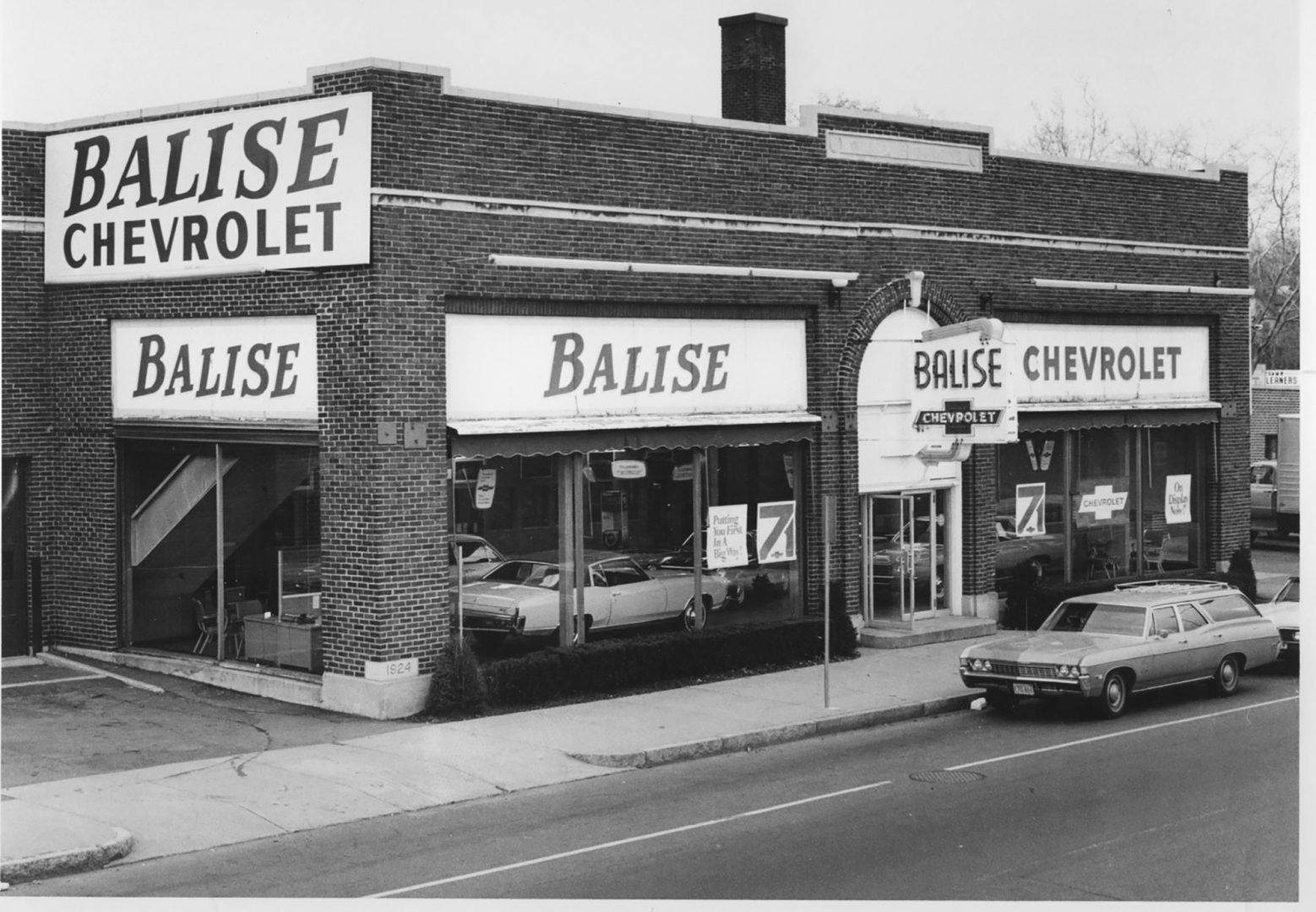 Paul Balise moved his Chevy dealership to Columbus Avenue at the height of the Great Depression