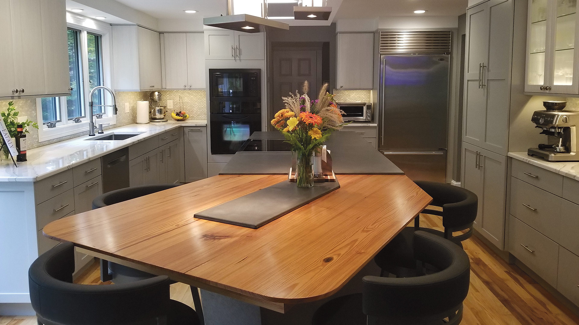 This recent remodeling project by Kitchens by Curio