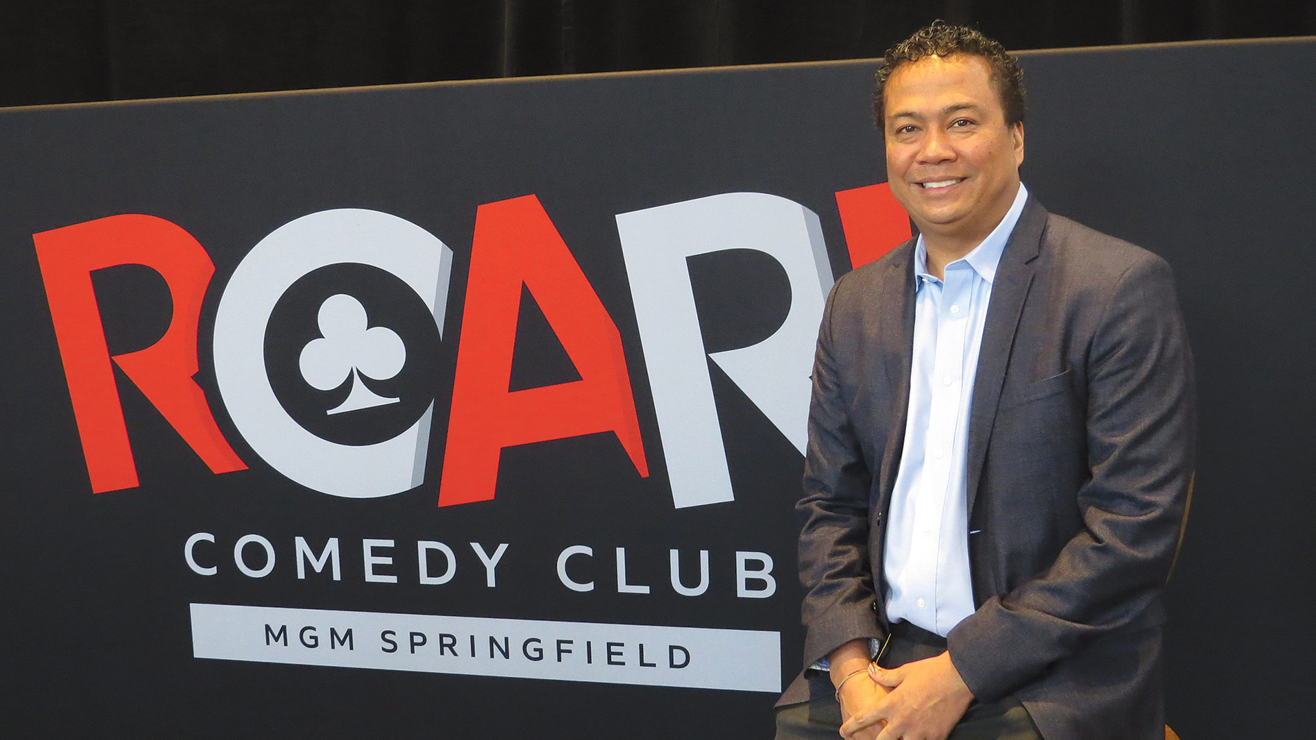 Mike Mathis says the ROAR! Comedy Club has become a solid attraction for MGM Springfield