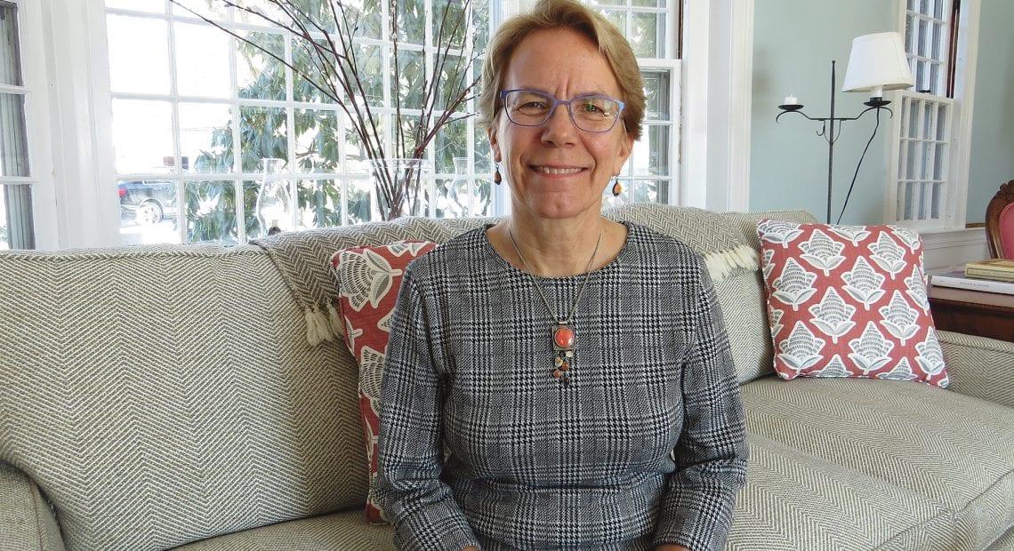 Hampshire College President Miriam Nelson